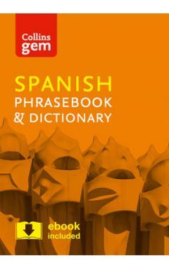 GEM SPANISH PHRASEBOOK & DICTIONARY