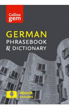 GEM GERMAN PHRASEBOOK & DICTIONARY