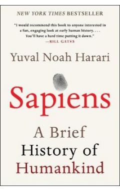 Sapiens: A Brief History of Humankind (Reprint)