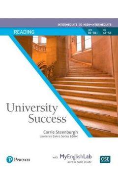 UNIVERSITY SUCCESS READING INTERMEDIATE SB/MEL PK