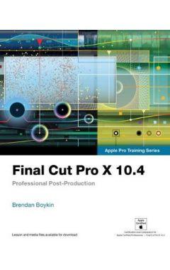 Final Cut Pro X 10.4 - Apple Pro Tr