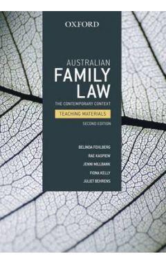 AUSTRALIAN FAMILY LAW 2E