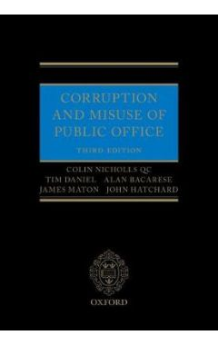 Corruption and Misuse of Public Office 3E