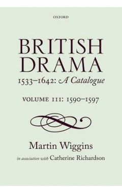BRITISH DRAMA:CATALOGUE Vol 3
