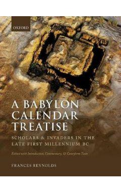 A Babylon Calendar Treatise