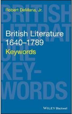 British Literature 1640-1789 - Keywords
