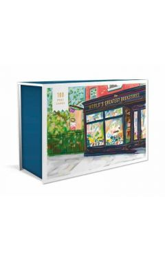 World's Greatest Bookstores,The: 100 Postcards