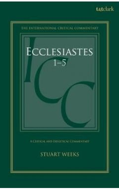 Ecclesiastes: A Critical and Exegetical Commentary