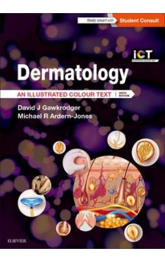 DERMATOLOGY ILLUSTRATED COLOR TEXT, 6E