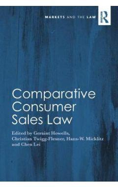 Comparative Consumer Sales Law