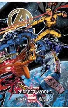 """(USED) New Avengers Volume 4: A Perfect World (marvel Now) (""""new"""")"""
