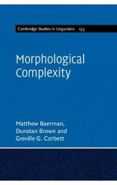Morphological Complexity