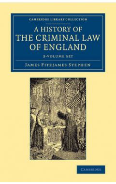 (3 vols) History Of the Criminal Law England