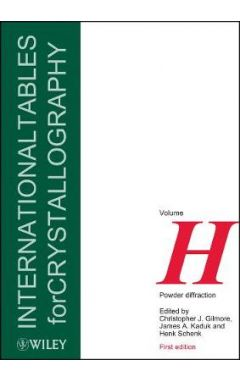 International Tables for Crystallography  - Powder  Diffraction Volume H