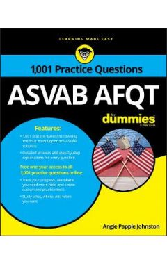 1,001 ASVAB AFQT Practice Questions For Dummies + OTB
