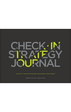Check-in Strategy Journal - Your Daily Tracker for  Business & Personal Development