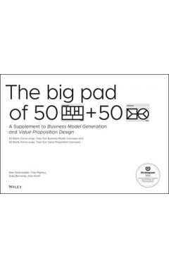 The Big Pad of 50 Blank, Extra-Large Business Mode l Canvases and 50 Blank, Extra-Large Value Propos