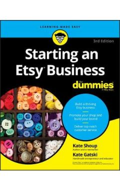 Starting an Etsy Business For Dummies, 3rd Edition