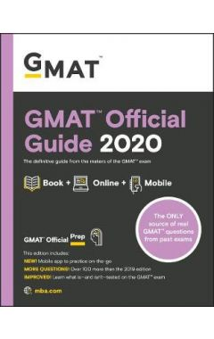Old Ed GMAT Official Guide 2020: Book + Online