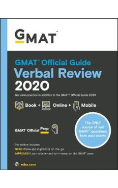 Old Ed GMAT Official Guide 2020 Verbal Review: Book + Online