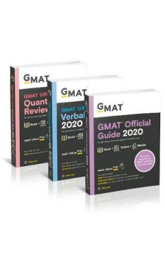 GMAT Official Guide 2020 Bundle - Books + Online