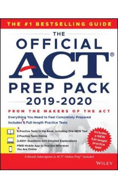 The Official ACT Prep Pack 2019-2020 with 7 Full P ractice Tests (5 in Official ACT Prep Guide + 2 O
