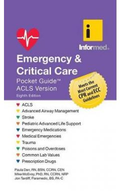 (ACLS)EMERGENCY & CRITICAL CARE POCKET GUIDE, REVISED 8E