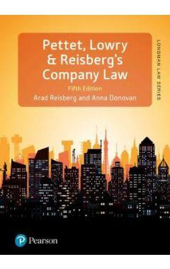 Pettet, Lowry & Reisberg's Company Law IE