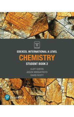 Edexcel international IAL CHEMISTRY STUDENT BOOK AND ACTIVE BOOK 2
