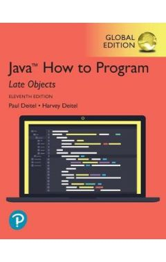 Java How to Program, Late Objects, Global Edition IE