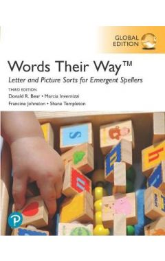 Words Their Way Letter and Picture Sorts for Emergent Spellers, Global Edition IE