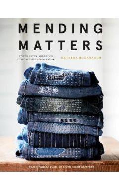 """Mending Matters:Repair and Renew Favorite Denim and More with Sas: """"Repair and Renew Favorite Denim"""