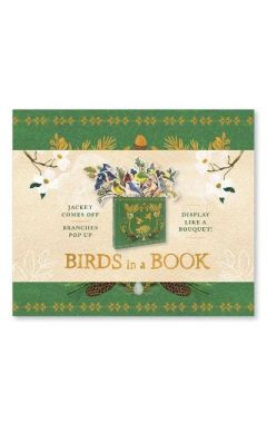 Birds in a Book  (a Bouquet in a Book): Jacket Comes Off. Branche