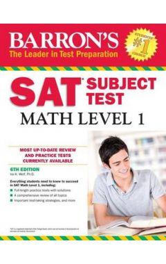 BARRON'S SAT SUBJECT TEST MATH, LEVEL 1