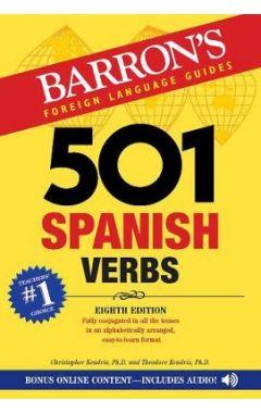BARRON'S 501 SPANISH VERBS 8E