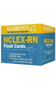Barron's NCLEX-RN Flash Cards 2e