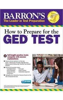 HOW TO PREPARE FOR THE GED TEST WITH CD-ROM, 2E