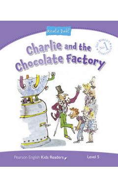 CHARLIE AND THE CHOCOLATE FACTORY PENGUIN KIDS READER 5