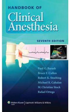 (SNP) Handbook Of Clinical Anesthesia 7e IE