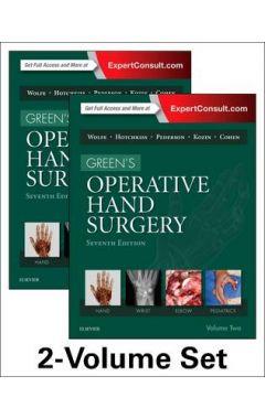 GREEN'S OPERATIVE HAND SURGERY, 2-VOLUME SET, 7TH EDITION