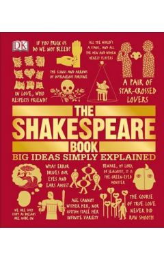 THE SHAKESPEARE BOOK ( BIG IDEAS SIMPLY EXPLAINED )