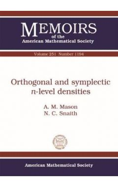 Orthogonal and Symplectic $n$-level Densities