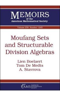Moufang Sets and Structurable Division Algebras
