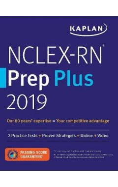 NCLEX-RN Prep Plus 2019: 2 Practice Tests + Proven Strategies + Online