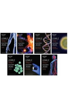 (7 books) USMLE Step 1 Lecture Notes 2020 ( Kaplan Test Prep )