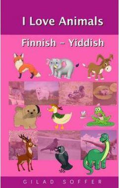 I Love Animals Finnish - Yiddish
