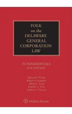 Folk on the Delaware General Corporation Law: Fundamentals, 2020 Edition