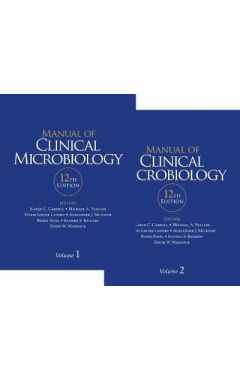 (2 vols) Manual of Clinical Microbiology 12e