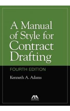 A Manual of Style for Contract Drafting 4E