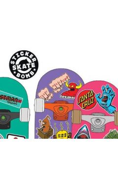 Stickerbomb Skateboard